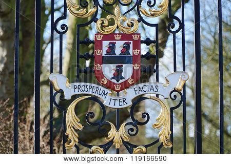 Jesus College, Cambridge, Cockerel Coat Of Arms
