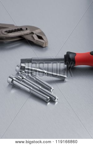 Spanner Tool And Screws