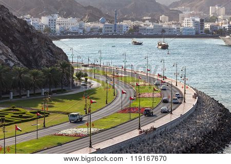 Corniche In Muttrah, Oman