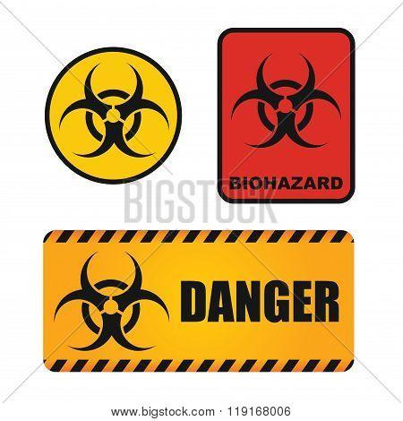 Biological Hazards Sign