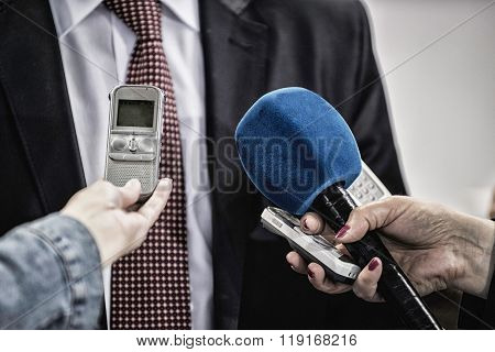 Interviewing Vip Person