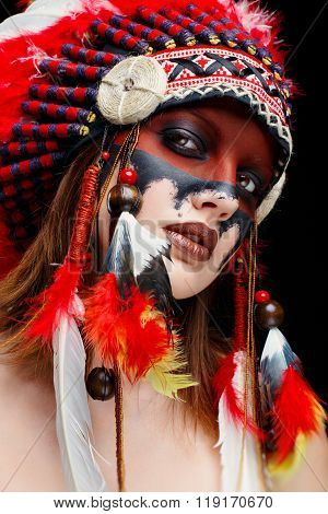 Native American Indian woman