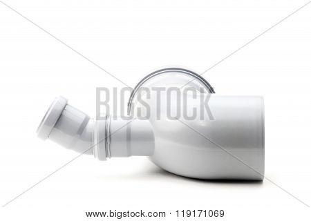 Drain pipe grey corner