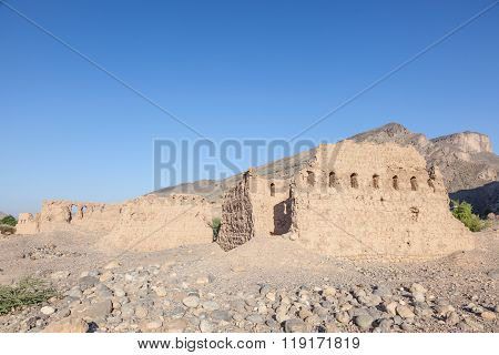 Ruins Of An Omani Village