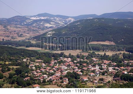 Landscape of the historical complex Perperikon
