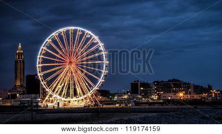 Big wheel in Le Havre