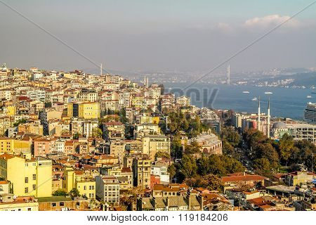 Istanbul Bosporus view.