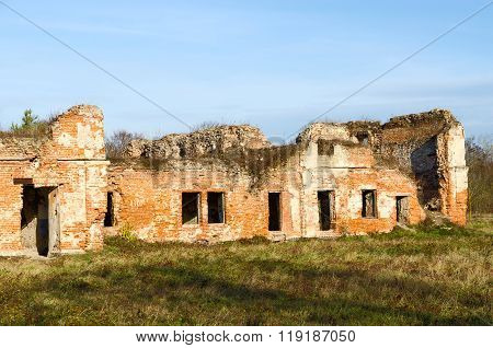 Ruins Of Bernardine Convent In Brest Fortress, Belarus