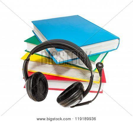 Books And Headphones