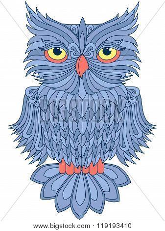 Amusing Blue Owl