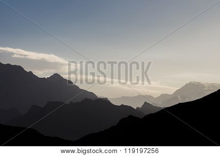 Landscape From Zoroastrian Tower Of Silence In Yazd, Iran