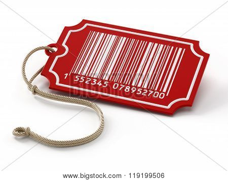 Barcode On Sale Tag