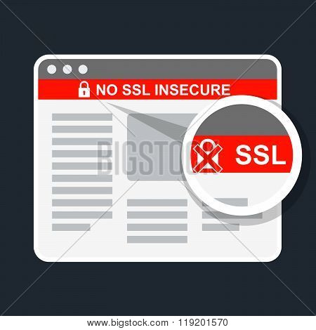 Insecure Web Page Without Ssl Certificate