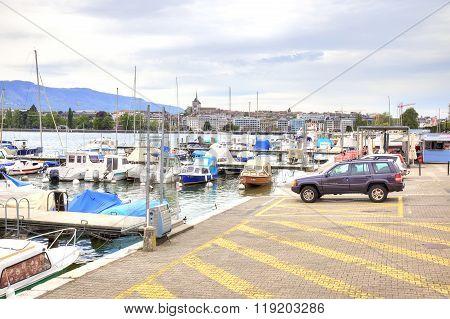 Geneva. Lake Shore