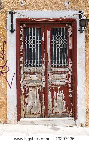 Old Door, Athens, Greece