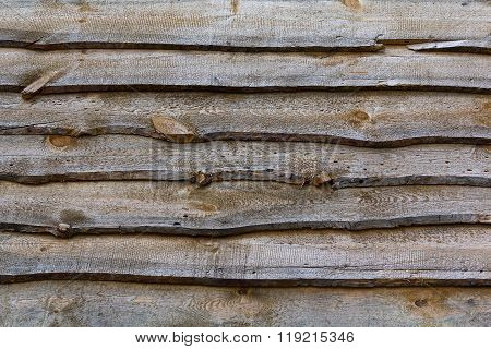 Rough Wooden Boards Overlap. Backgrounds And Textures