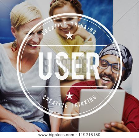 User Password Registration Identity Member System Concept