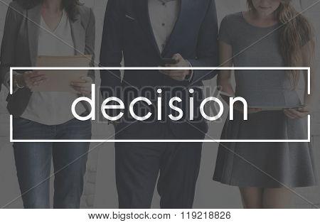 Decision Choice Resolution Dilemma Concept