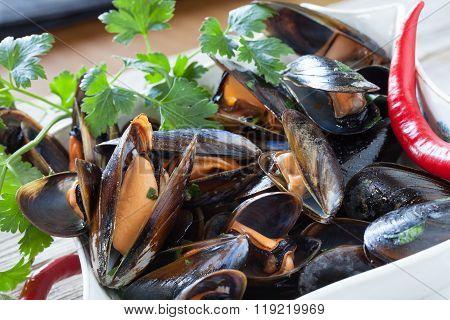 Mussels Saute