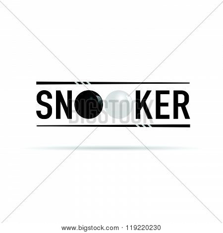 Snooker Icon Illustration