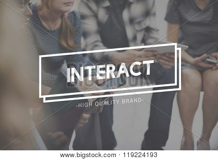 Interaction Interactive Engaging Social Together Concept