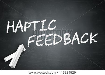 Blackboard Haptic Feedback