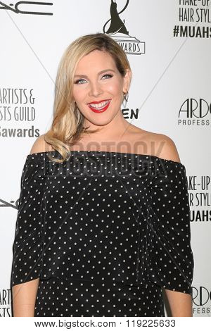LOS ANGELES - FEB 20:  June Diane Raphael at the Make-Up Artists And Hair Stylists Guild Awards at the Paramount Studios on February 20, 2016 in Los Angeles, CA