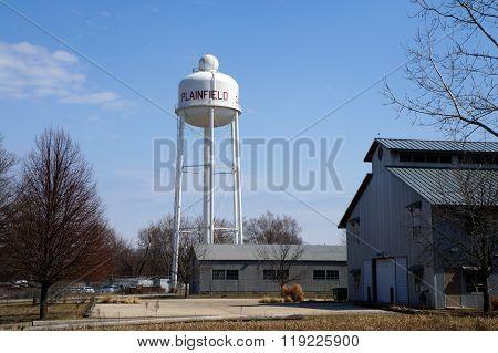 Plainfield Water Tower