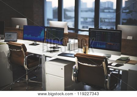 Stock Market Exchange Financial Economic Trading Concept