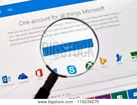 Microsoft Mail Login.