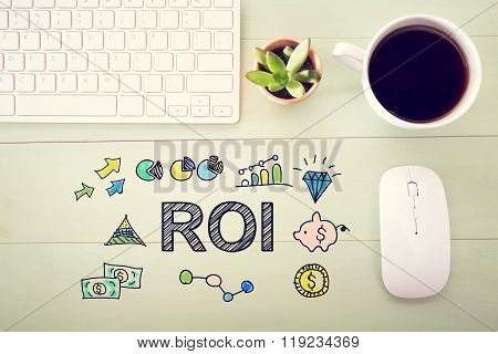 Roi Concept With Workstation
