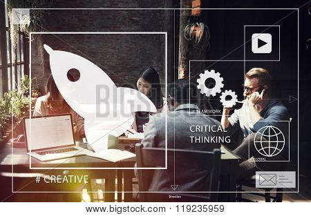 Business Start up Coworking Creativity Concept