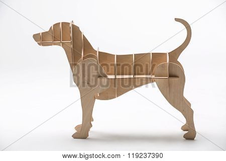 Jack russell dog's model