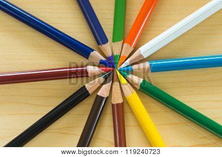 Circle Of Art Pencils