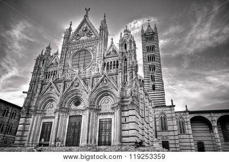 Il Duomo and Campanile, Siena, Italy