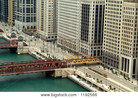 Wacker In Chicago