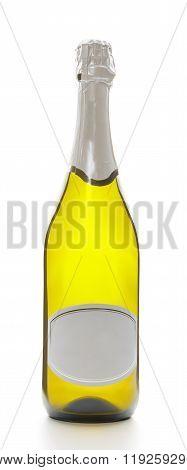 Bottle of sparkling wine