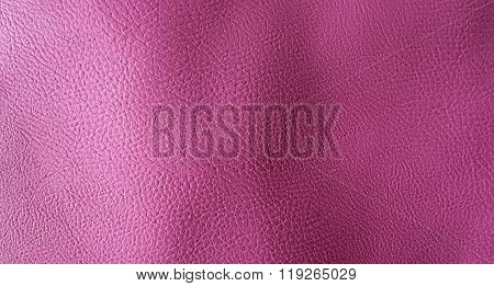 Pink Plastic Texture For Background