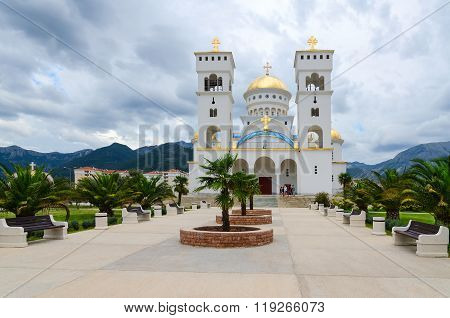 Orthodox Cathedral Church Of St. Jovan Vladimir, Bar, Montenegro