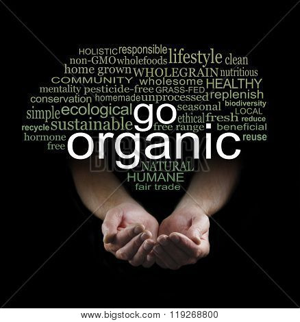 Go Organic Campaign Poster