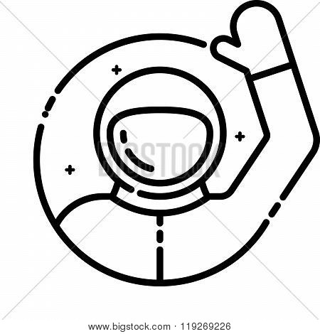 Astronaut Welcomes You