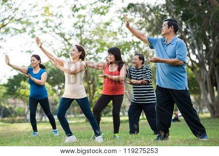Tai Chi session