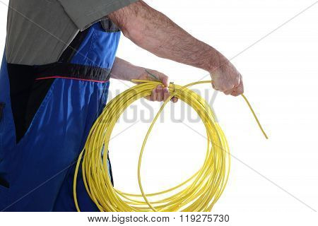 Install Network Cable