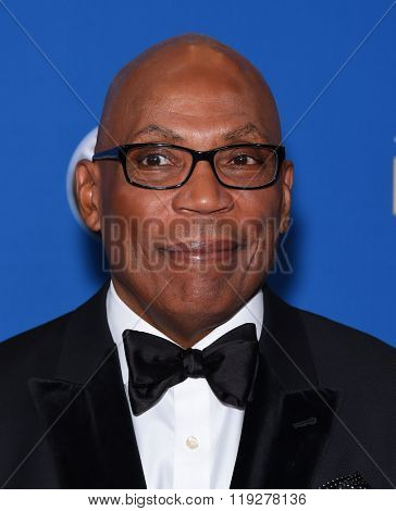 LOS ANGELES - FEB 06:  Paris Barclay arrives to the Directors Guild Awards 2016  on February 06, 2016 in Century City, CA.