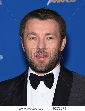 LOS ANGELES - FEB 06:  Joel Edgerton arrives to the Directors Guild Awards 2016  on February 06, 2016 in Century City, CA.
