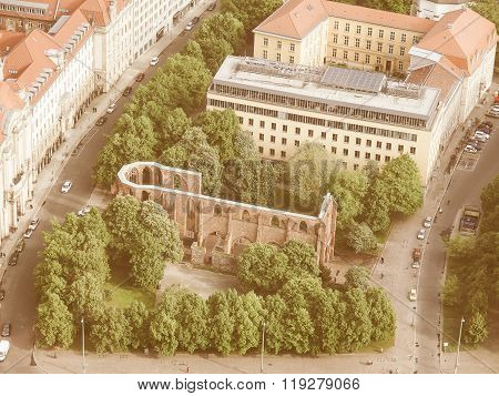 Klosterkirche Berlin Vintage
