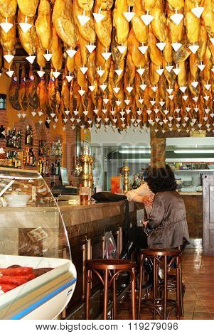 Tapas Bar, Granada.