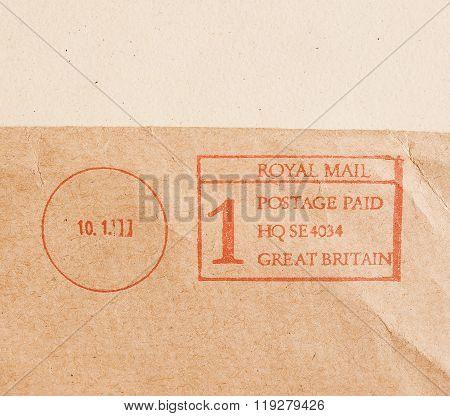 Postage Meter Vintage