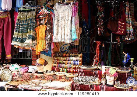 Clothes shop, Granada.