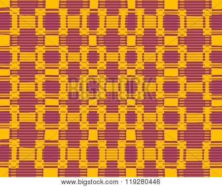 Colourful Blurred Chequered Pattern